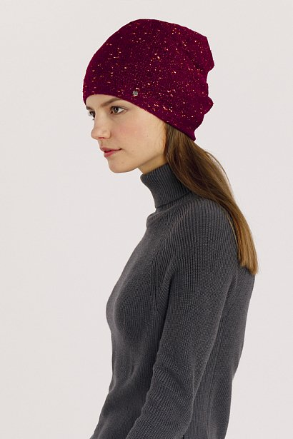 Шапка женская, Модель A19-11181, Фото №2