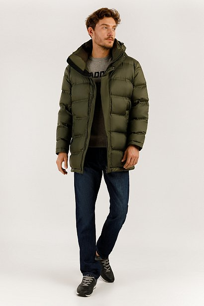 Пальто мужское, Модель A19-21017, Фото №2