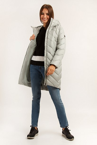 Пальто женское, Модель A19-11013, Фото №2