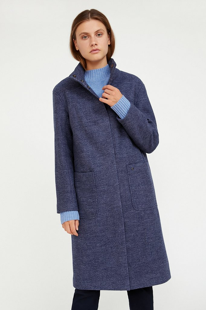 Пальто женское, Модель A20-11017, Фото №1