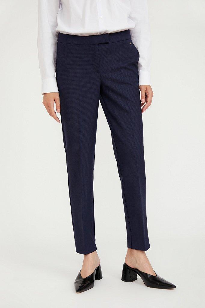 Классические прямые женские брюки со стрелками, Модель A20-11084, Фото №2
