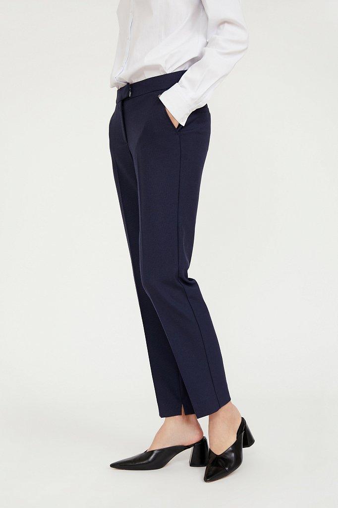 Классические прямые женские брюки со стрелками, Модель A20-11084, Фото №3