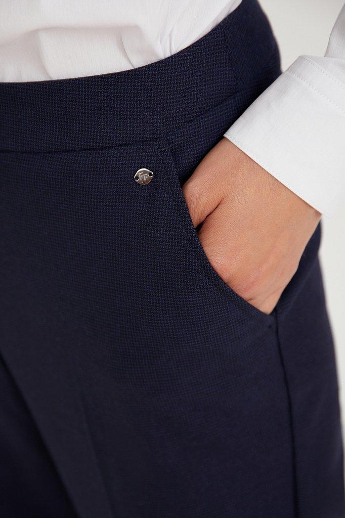 Классические прямые женские брюки со стрелками, Модель A20-11084, Фото №5