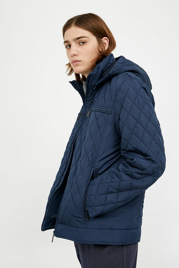 Куртка мужская, Модель A20-21001, Фото №4