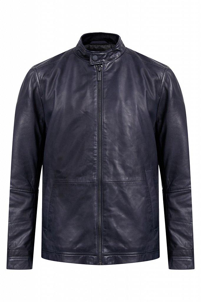 Куртка кожаная мужская, Модель A20-21800, Фото №8