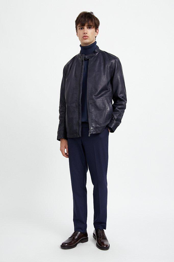 Куртка кожаная мужская, Модель A20-21800, Фото №2