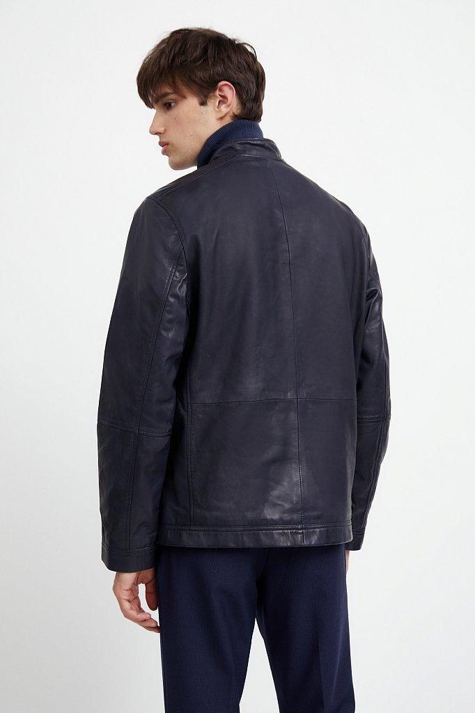 Куртка кожаная мужская, Модель A20-21800, Фото №4