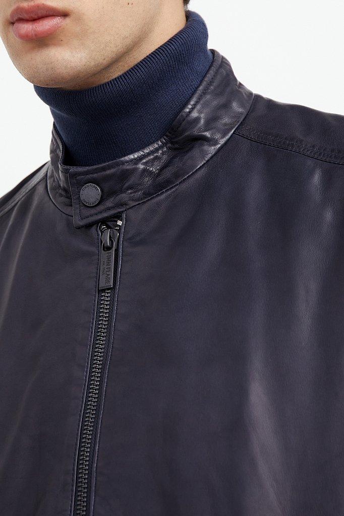 Куртка кожаная мужская, Модель A20-21800, Фото №6
