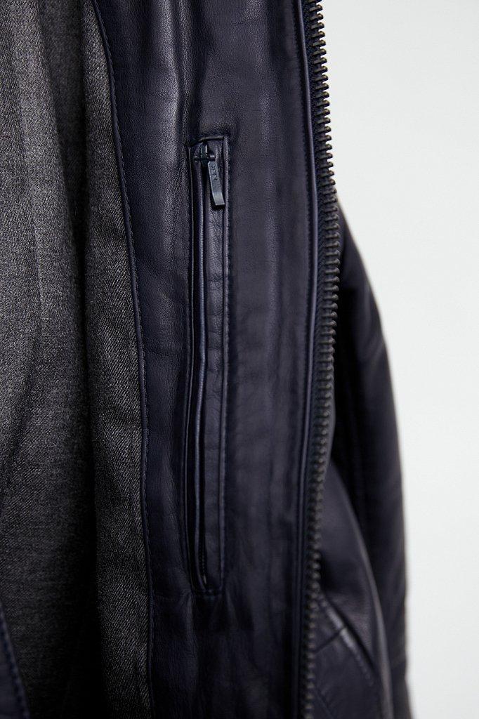 Куртка кожаная мужская, Модель A20-21800, Фото №5