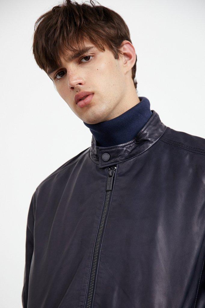Куртка кожаная мужская, Модель A20-21800, Фото №7