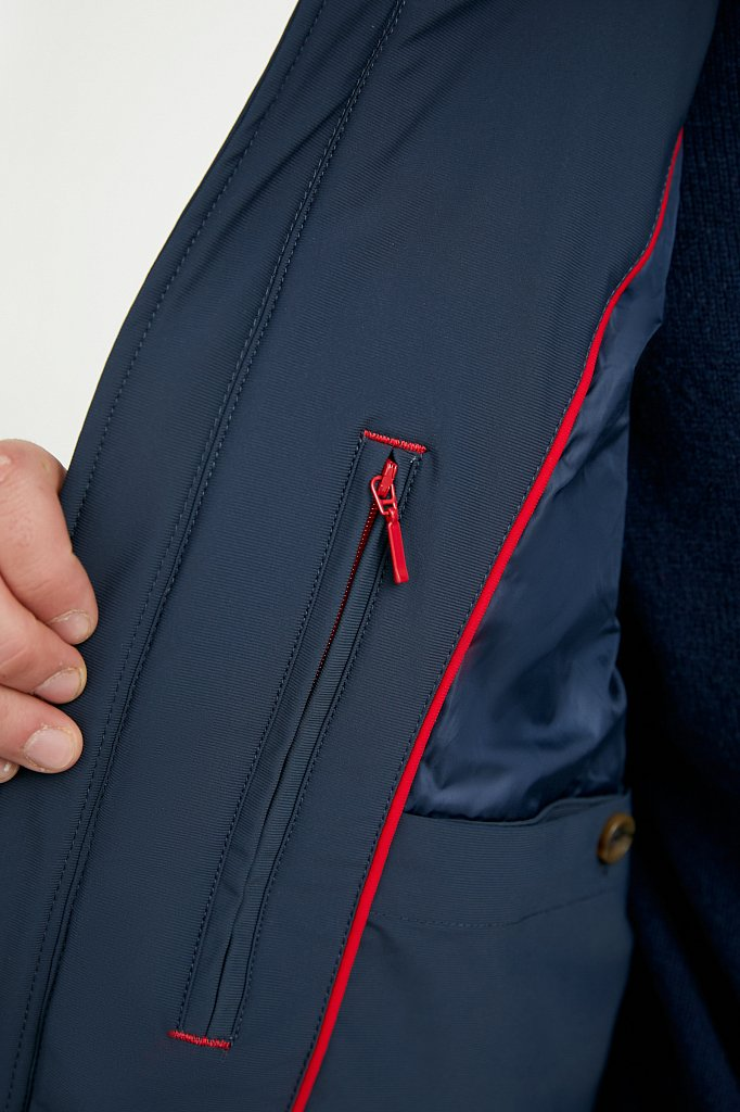 Куртка мужская, Модель A20-22009, Фото №4
