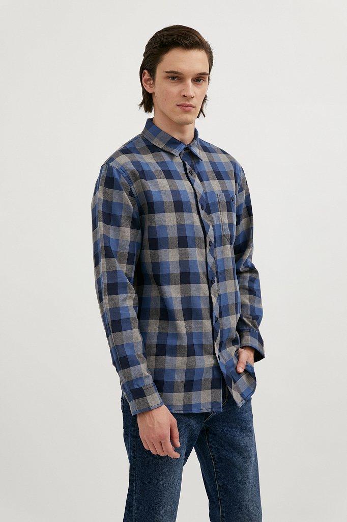 Верхняя сорочка мужская, Модель A20-22028, Фото №1