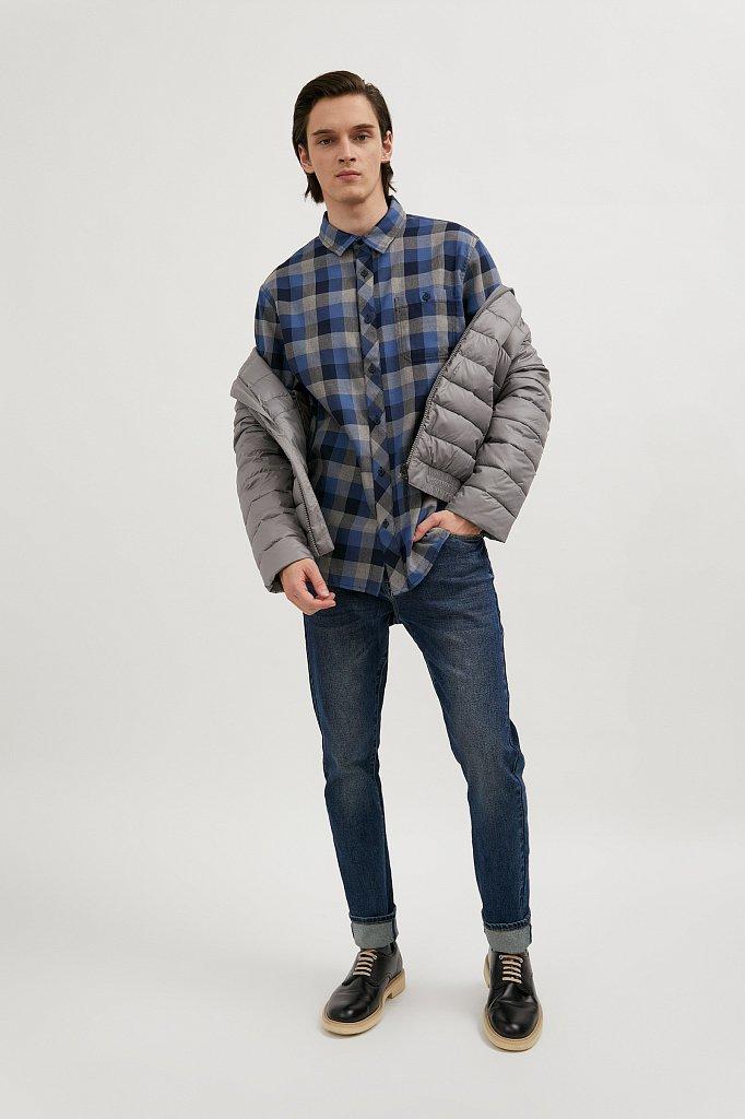 Верхняя сорочка мужская, Модель A20-22028, Фото №2