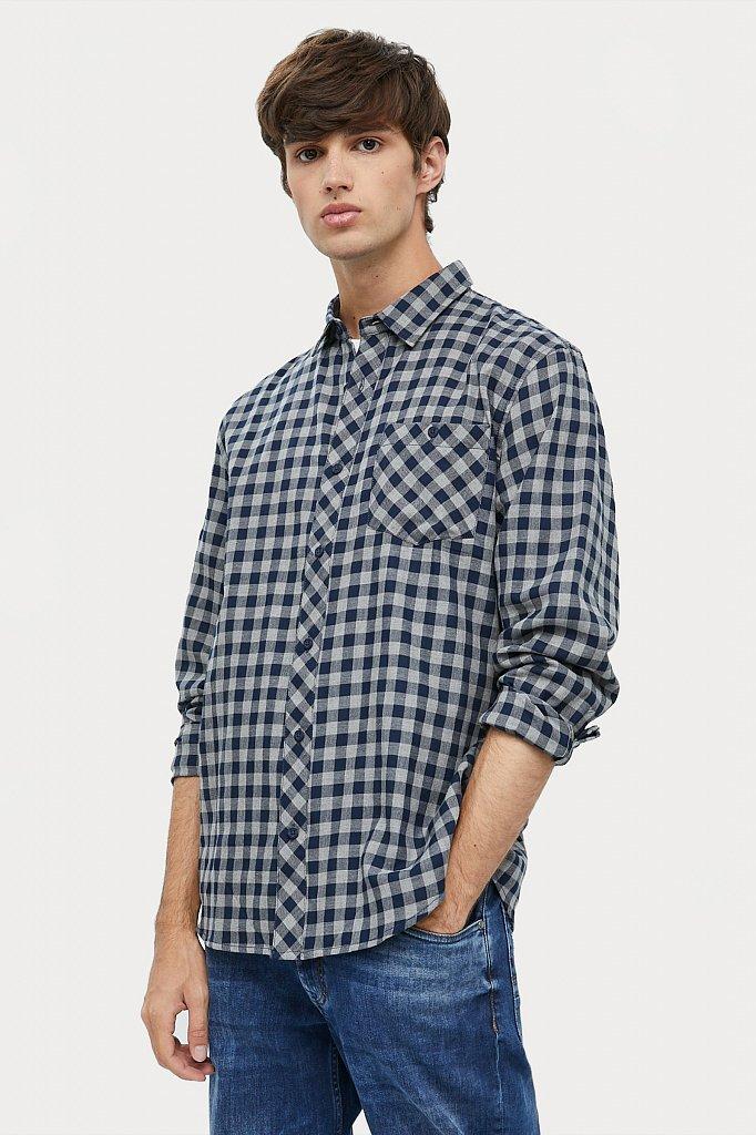 Верхняя сорочка мужская, Модель A20-22039, Фото №2