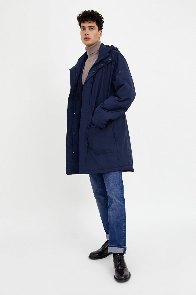 Пальто мужское, Модель A20-23009, Фото №2