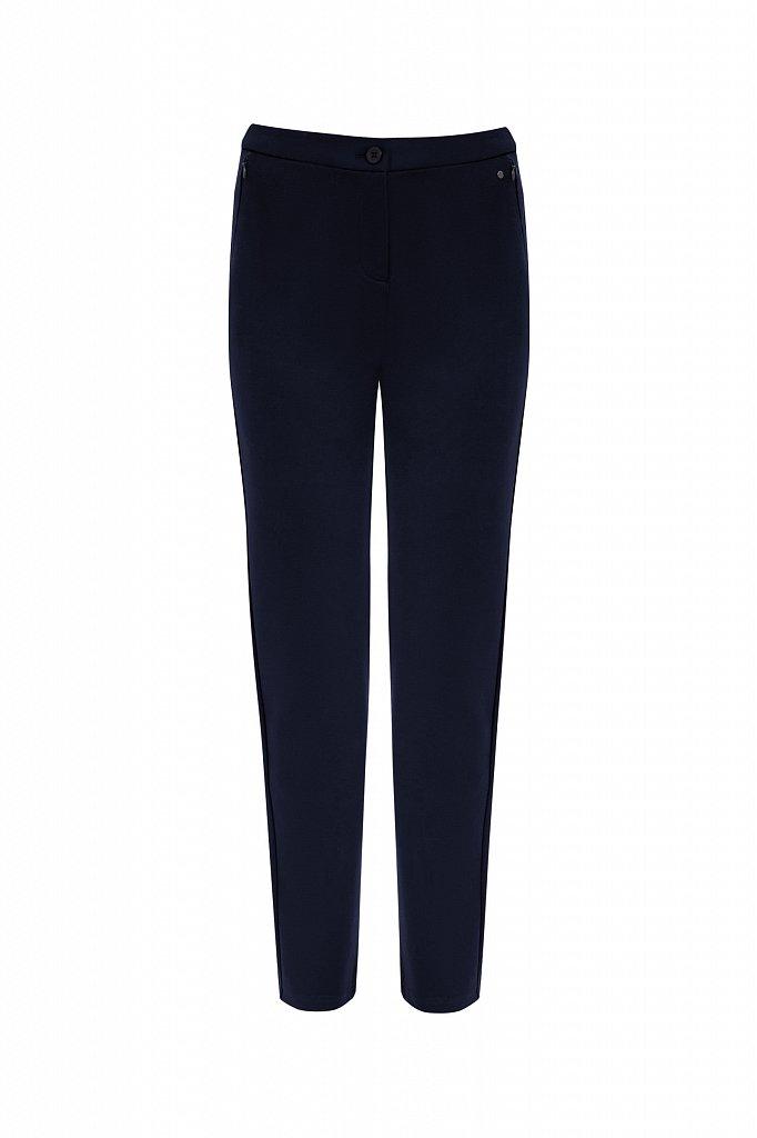 Классические женские брюки прямого кроя с вискозой, Модель A20-32047, Фото №5