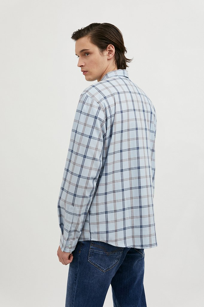 Рубашка мужская, Модель A20-42019, Фото №4