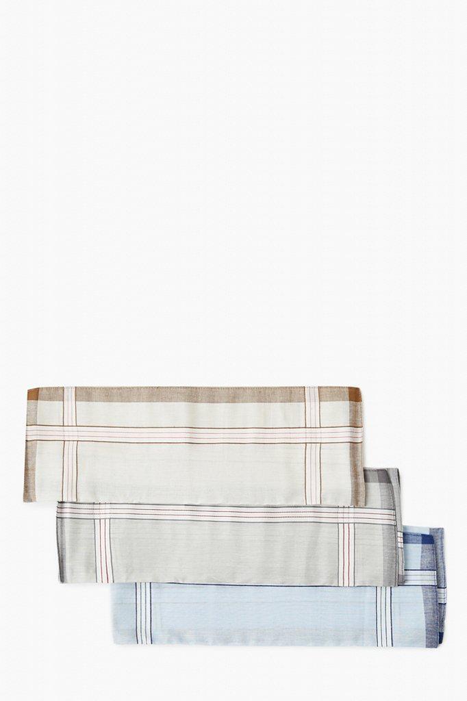 Носовой платок из хлопка, Модель A20-21700S, Фото №3