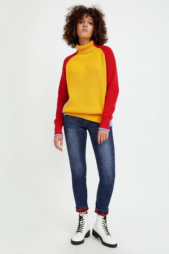 Брюки женские (джинсы), Модель A20-15000, Фото №1
