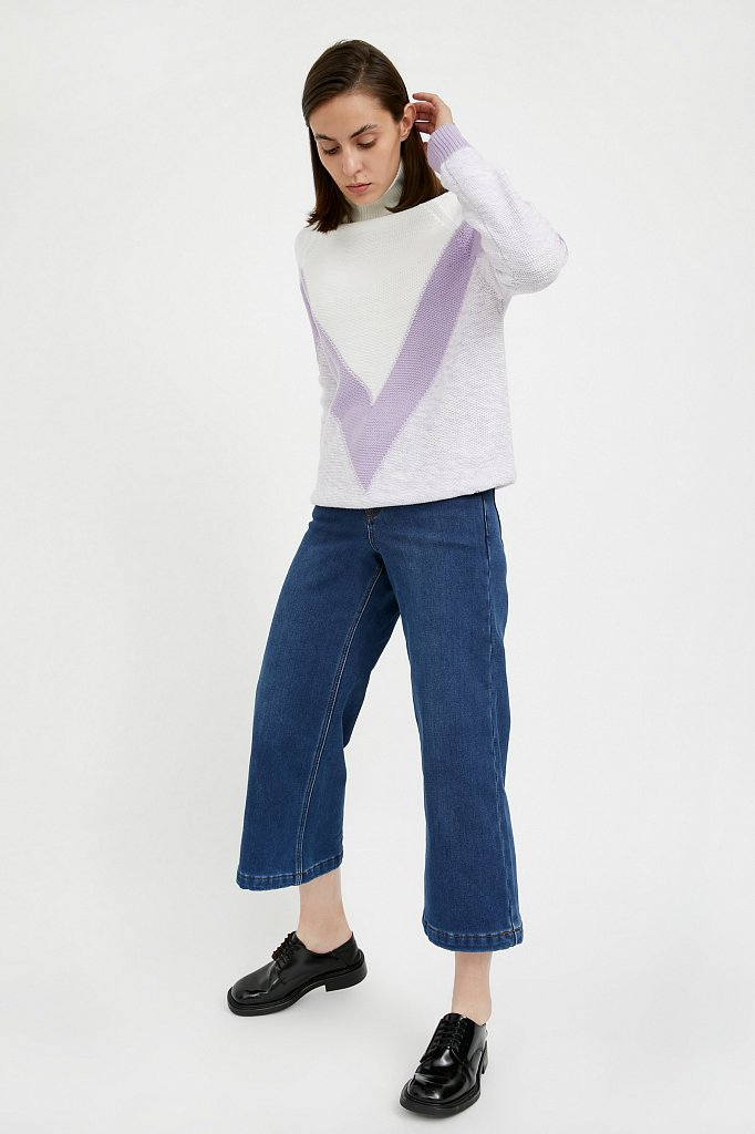 Джинсы женские, Модель A20-15006, Фото №1