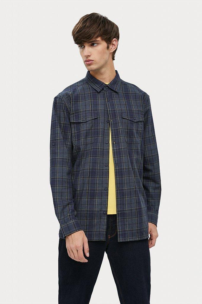 Верхняя сорочка мужская, Модель A20-22027, Фото №1