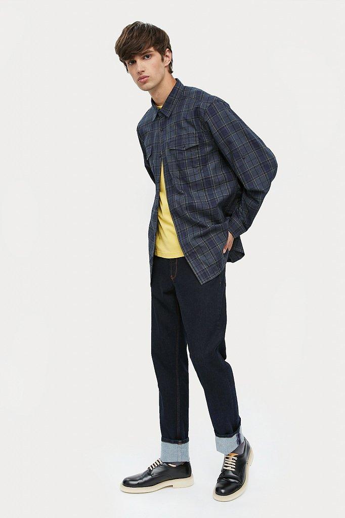 Верхняя сорочка мужская, Модель A20-22027, Фото №2