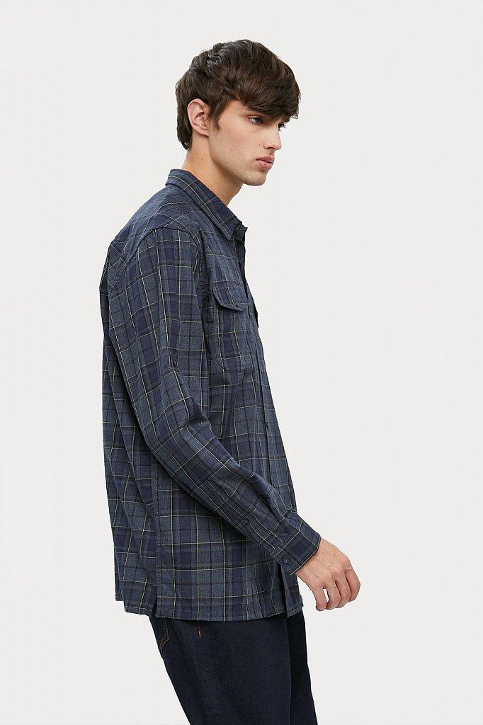 Верхняя сорочка мужская, Модель A20-22027, Фото №3