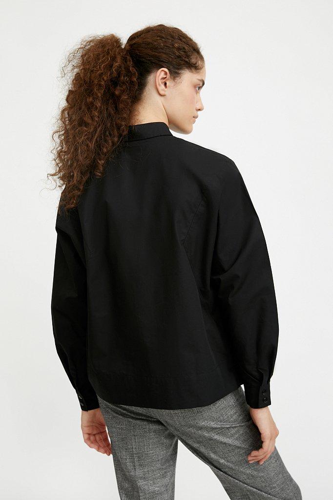 Блузка женская оверсайз с рукавами «летучая мышь», Модель A20-11088R, Фото №5