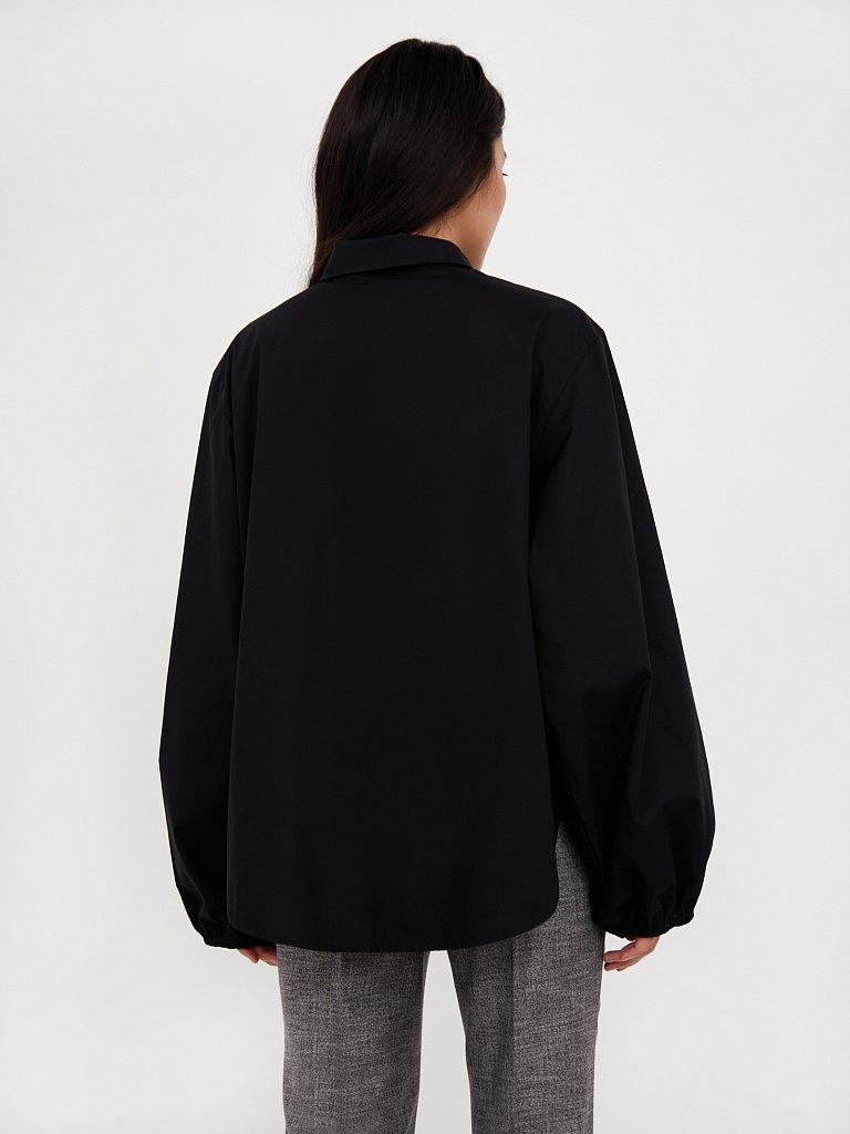 Блузка женская оверсайз с объемными рукавами, Модель A20-11091R, Фото №4