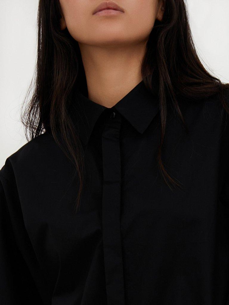 Блузка женская оверсайз с объемными рукавами, Модель A20-11091R, Фото №5