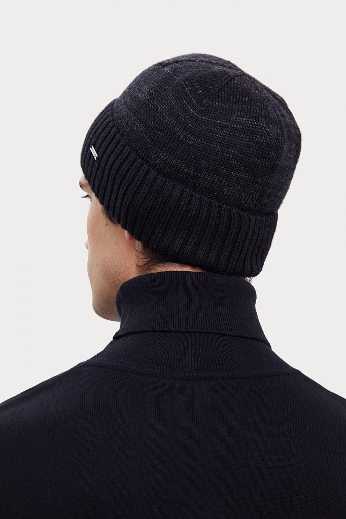 Шапка мужская, Модель A20-21152, Фото №4