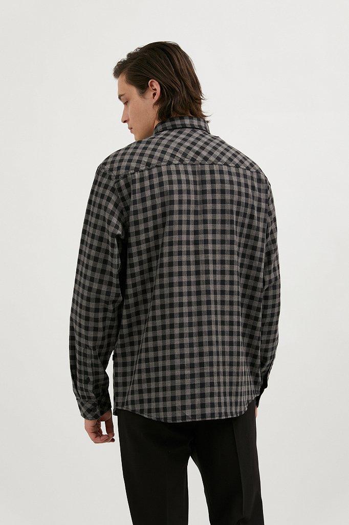 Верхняя сорочка мужская, Модель A20-22039, Фото №4