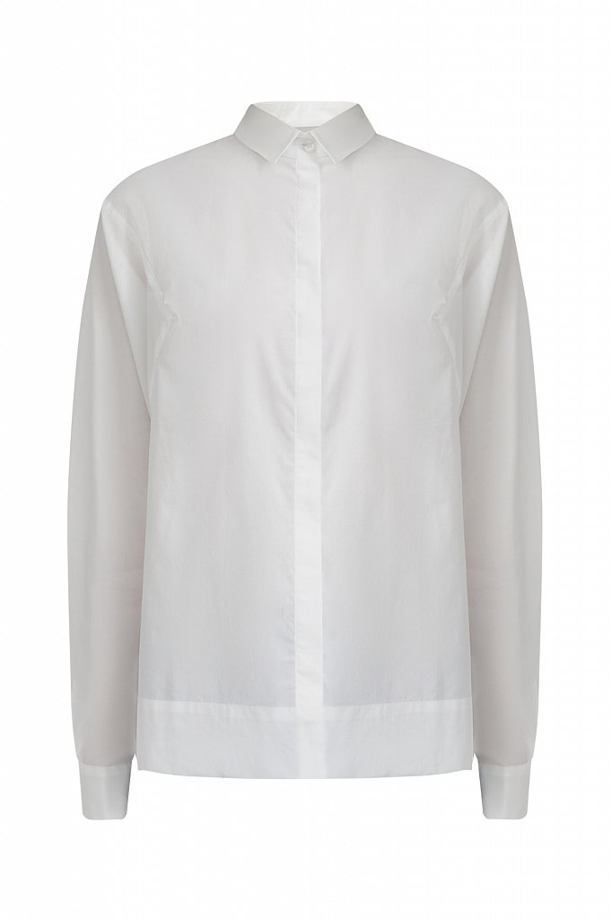 Блузка женская оверсайз с рукавами «летучая мышь», Модель A20-11088R, Фото №7