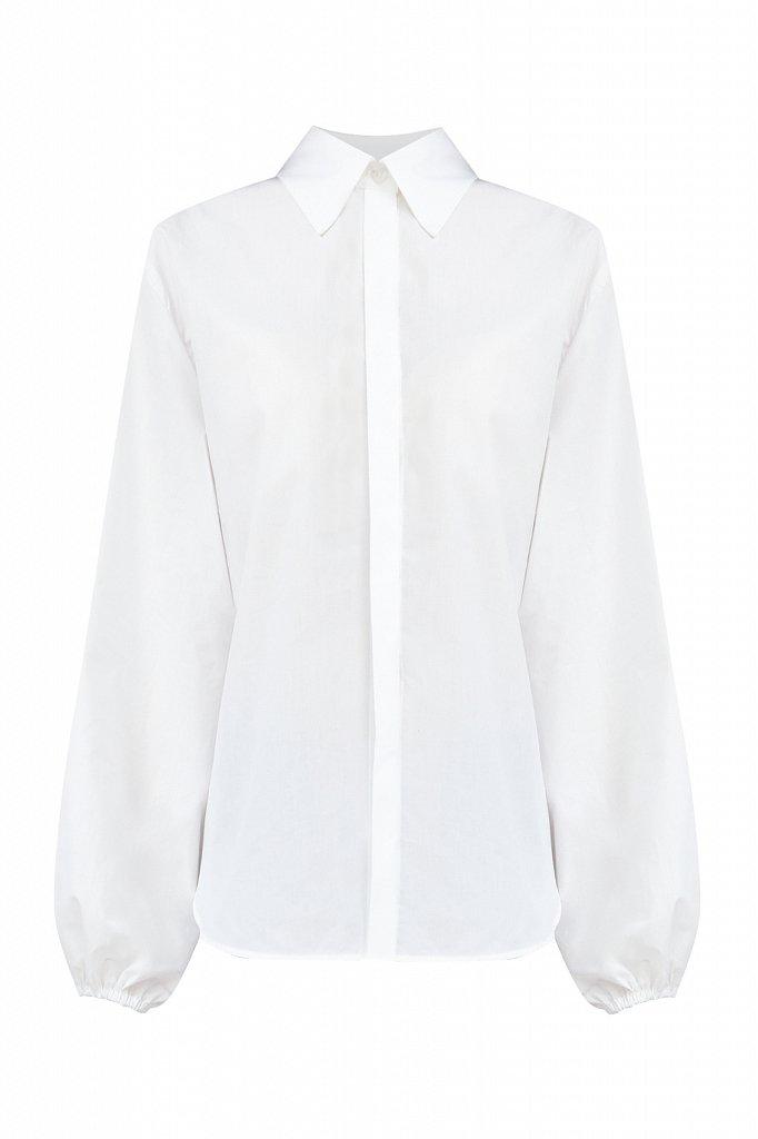 Блузка женская оверсайз с объемными рукавами, Модель A20-11091R, Фото №6