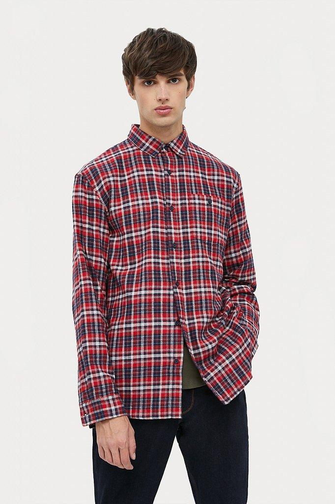 Верхняя сорочка мужская, Модель A20-42029, Фото №2