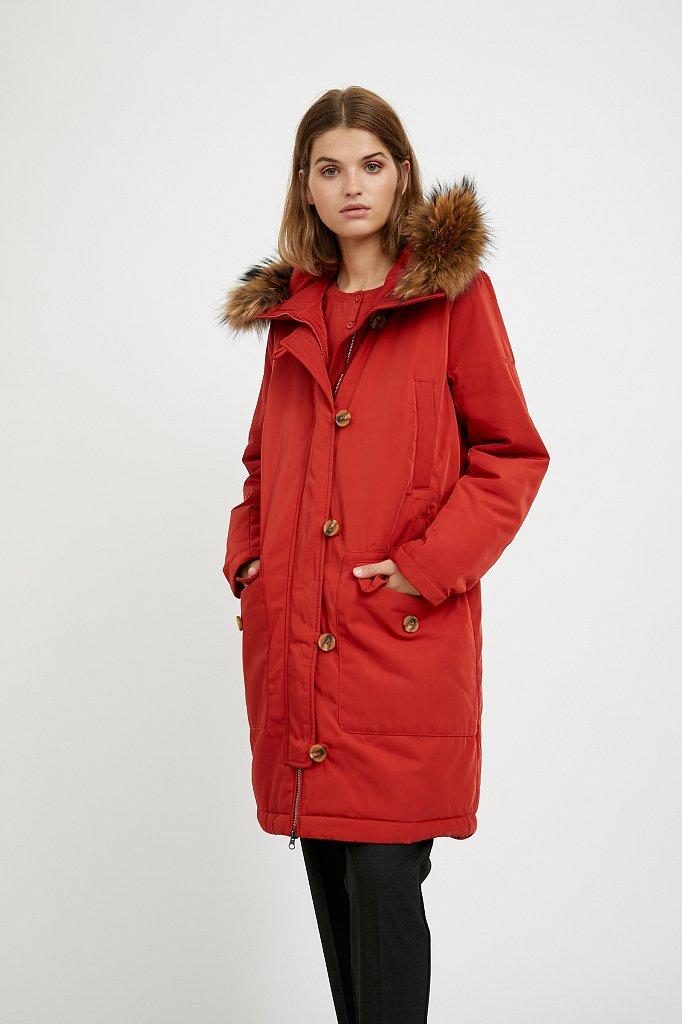 Пальто женское, Модель A20-12020, Фото №1