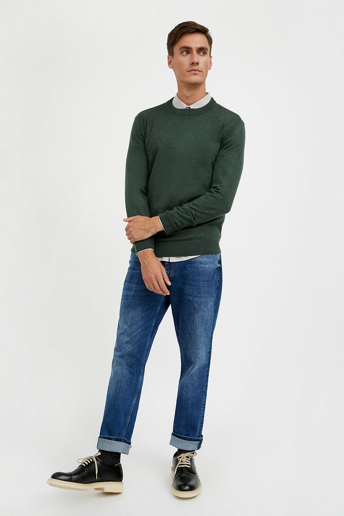 Джемпер мужской, Модель A20-21100, Фото №2