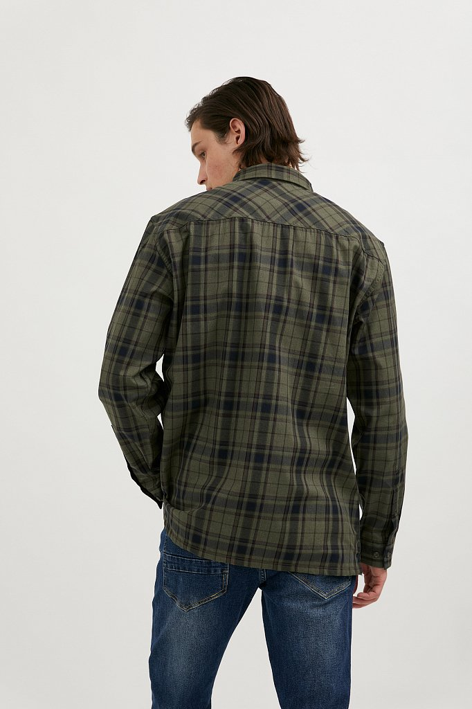 Верхняя сорочка мужская, Модель A20-22027, Фото №5