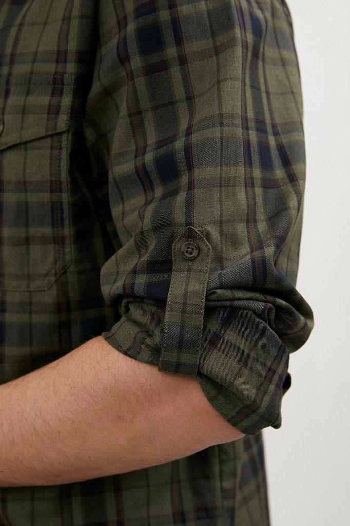 Верхняя сорочка мужская, Модель A20-22027, Фото №6