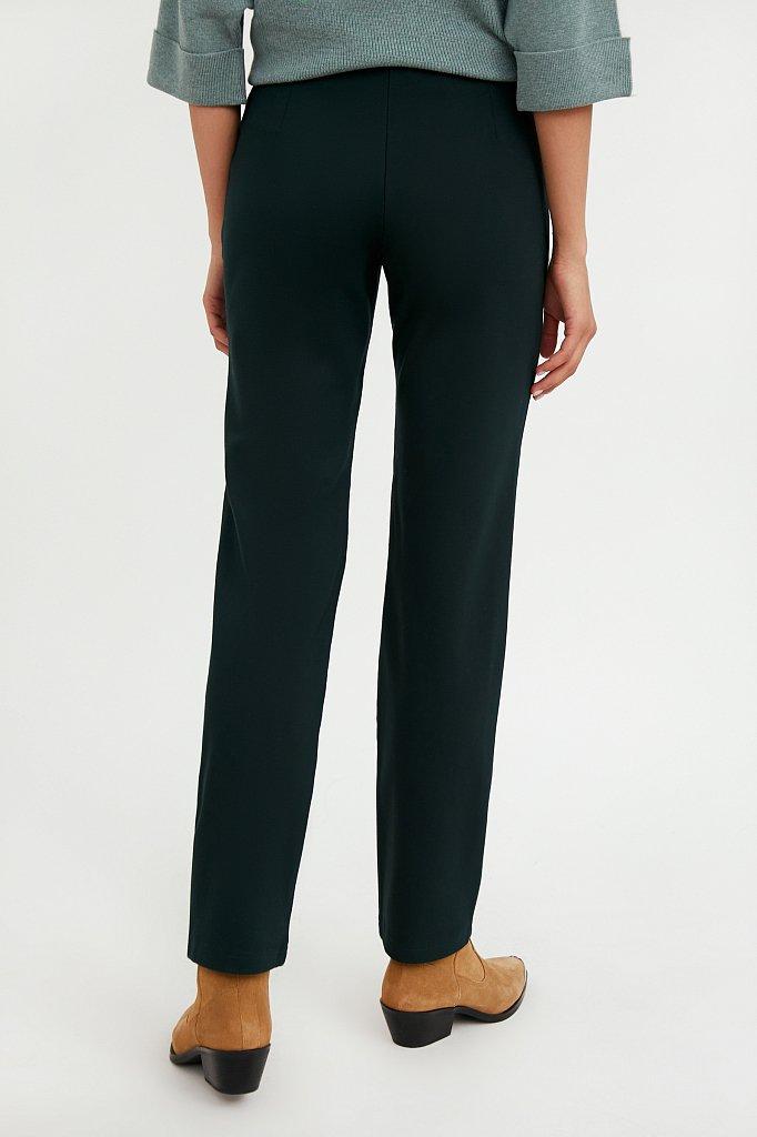 Классические женские брюки прямого кроя с вискозой, Модель A20-32047, Фото №4