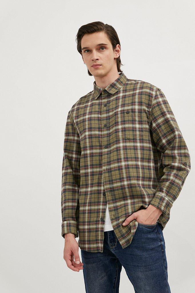 Верхняя сорочка мужская, Модель A20-42029, Фото №1