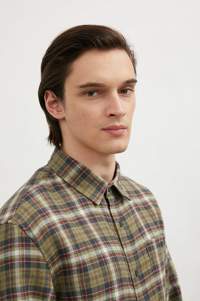 Рубашка мужская, Модель A20-42029, Фото №2