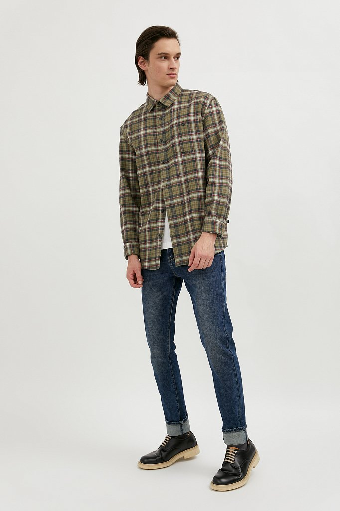 Рубашка мужская, Модель A20-42029, Фото №3