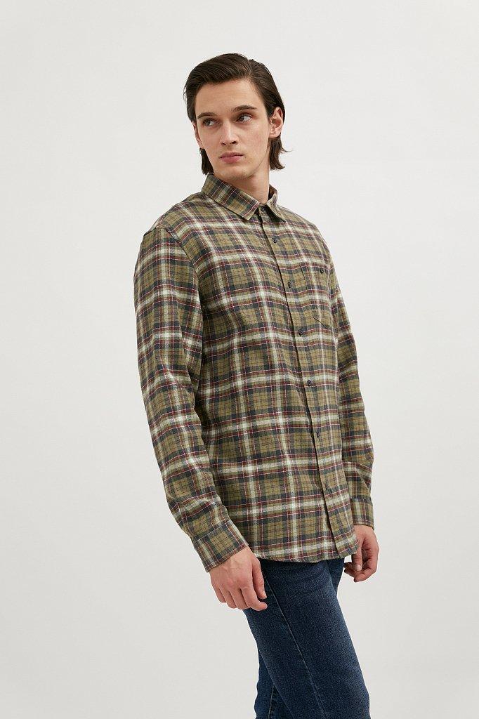 Верхняя сорочка мужская, Модель A20-42029, Фото №4