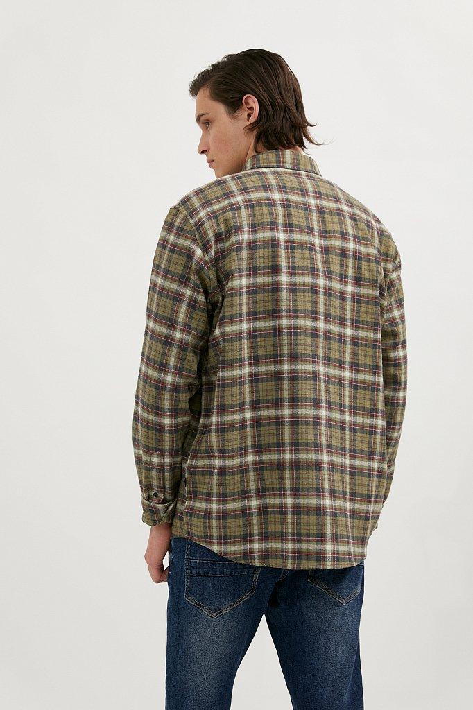 Верхняя сорочка мужская, Модель A20-42029, Фото №5