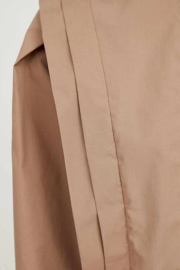 Блузка женская оверсайз с декоративной отделкой, Модель A20-11096R, Фото №6