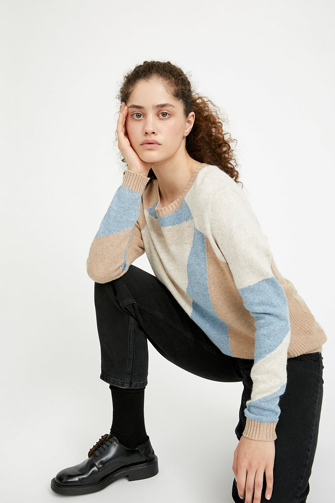 Джемпер женский, Модель A20-12110, Фото №4