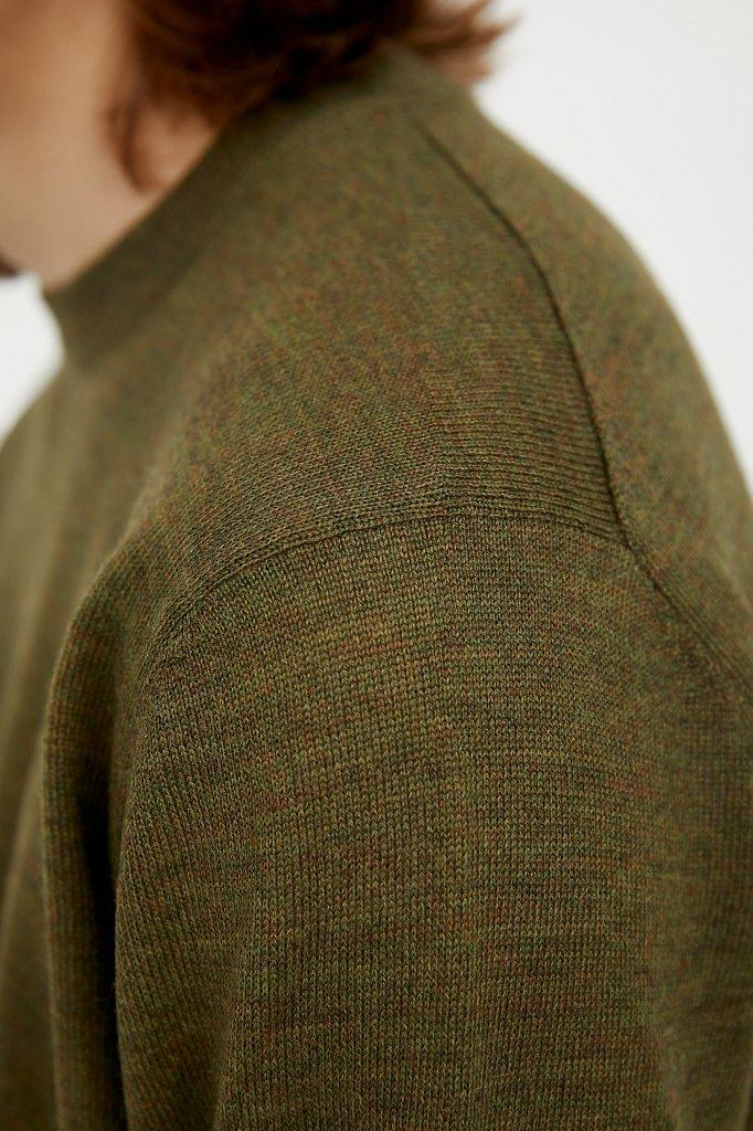 Джемпер мужской, Модель A20-21101, Фото №6