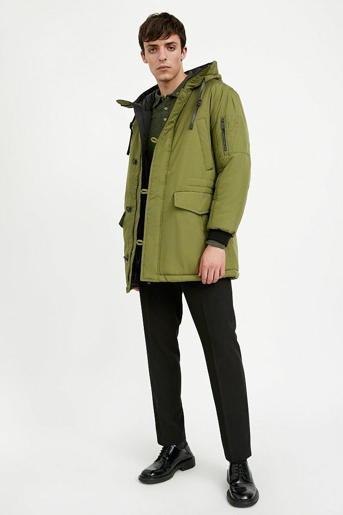 Полупальто мужское, Модель A20-42010, Фото №2