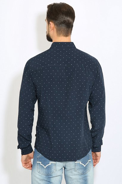 Рубашка мужская, Модель B17-21030, Фото №4
